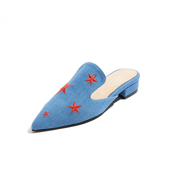 Starry Mules Denim Blue 별밤 데님 블루