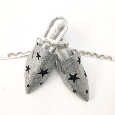 Starry Mules Silver 별밤 실버